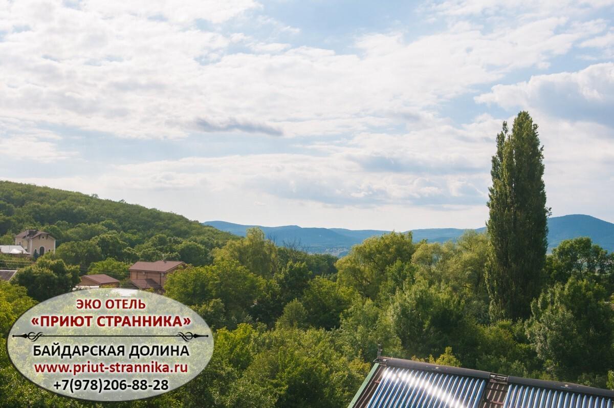 Гостевой дом в Байдарской долине с Подгорное Крым