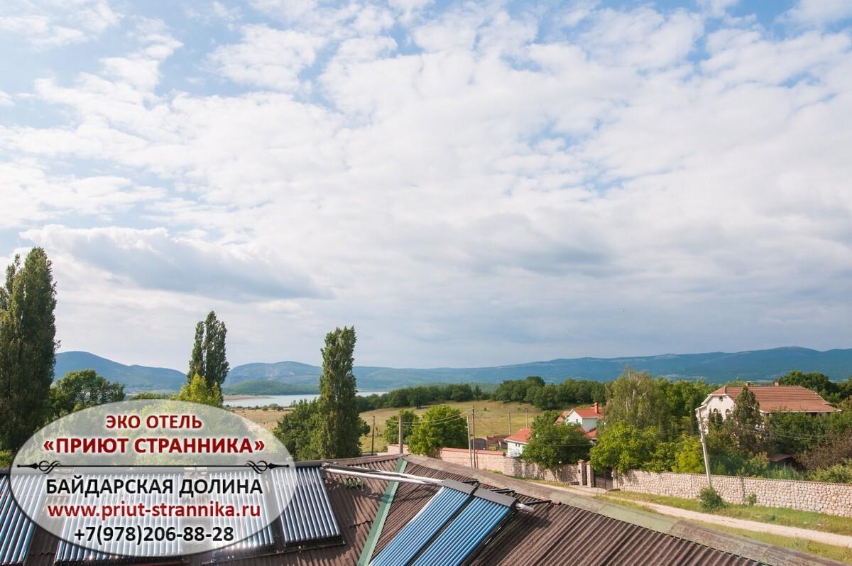 Снять номер гостевой дом Байдарская долина Крым